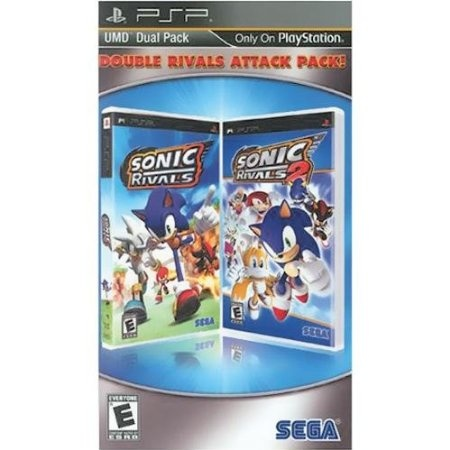 PS SEGA Double Rivals Attack Pack - Sonic Rivals / Sonic Rivals 2 $19.99   Your #1 Source for Video Games, Consoles & Accessories! Multicitygames.com