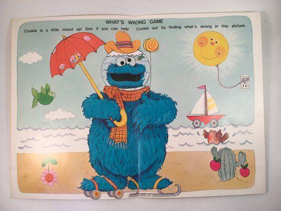 Vintage 1978 Muppets Sesame Street Bert, Ernie, Cookie
