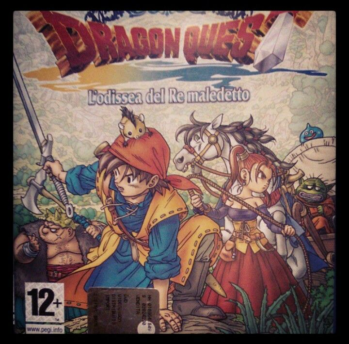 Dragon quest ps2