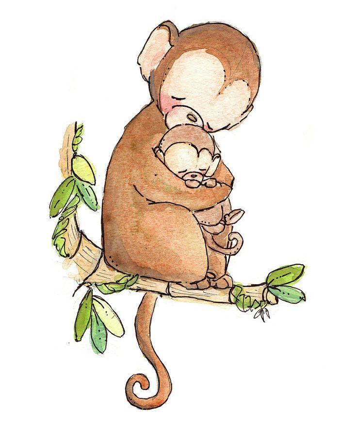 My Baby Monkey Print | zulily