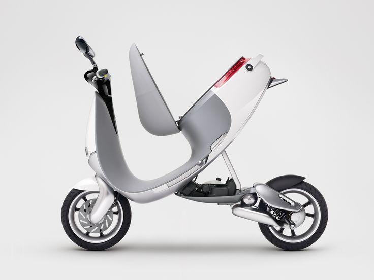Chama-se Gogoro SmartScooter e parece ter chegado do futuro para o CES 2015, em Las Vegas. É feita p