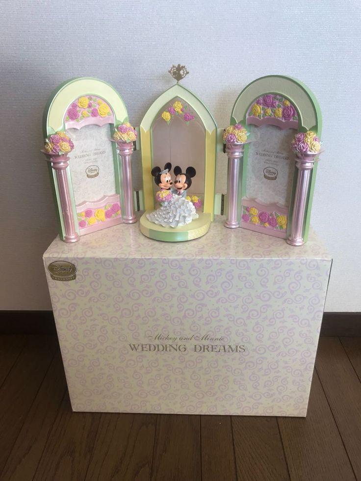 公式 ディズニーストア ミッキー ミニー ウェディング フォトフレーム 完売品 レア 結婚式 ウェルカムボード ディズニー TDR ウエディング_画像1