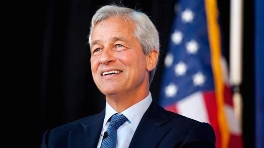 Jamie Dimon, chairman and chief executive officer of JPMorgan Chase & Co.