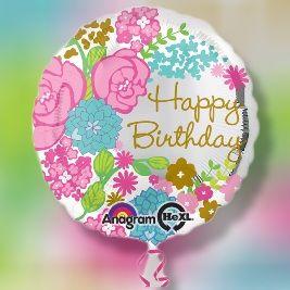 """Happy Birthday Bouquet of Roses"""