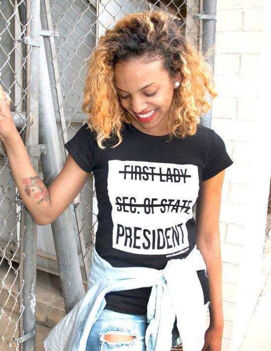 House of Hillary Clinton™ Madam President T-shirt by Houseofhillary on Etsy https://www.etsy.com/listing/252900331/house-of-hillary-clinton-madam-president