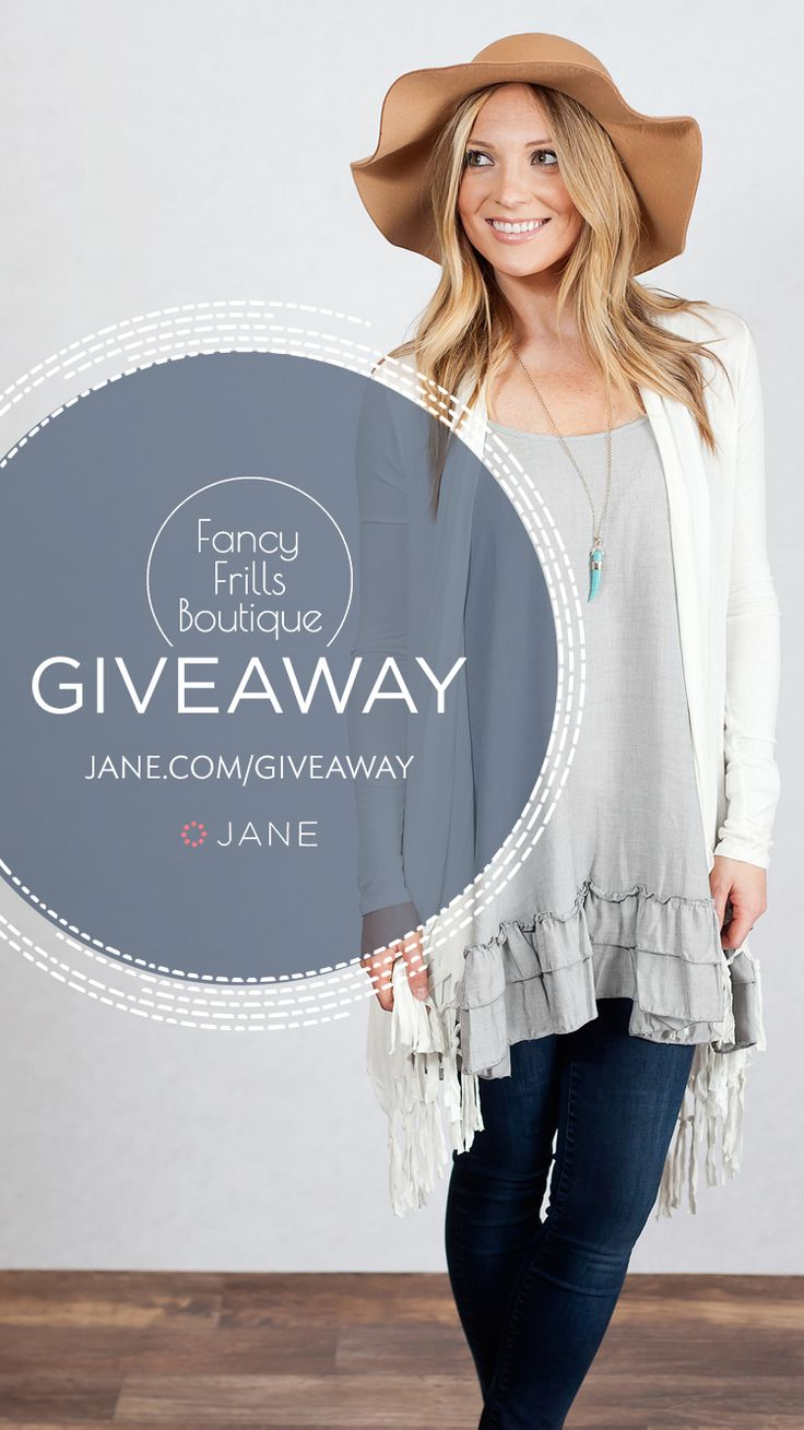 Jane.com #Giveaway - Over $1000 in Prizes from Fancy Frills Boutique!