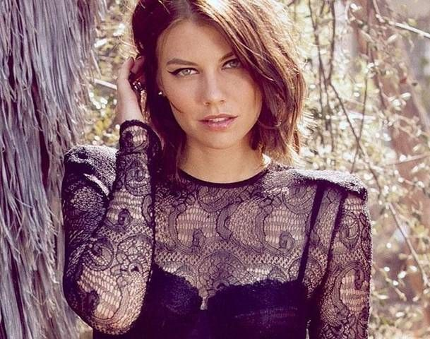 Lauren Cohan - best known to date for her role as Maggie in 'The Walking Dead'.. hoping she will migrate to the bigger screen more often.  Don't look behind you, but...AMx