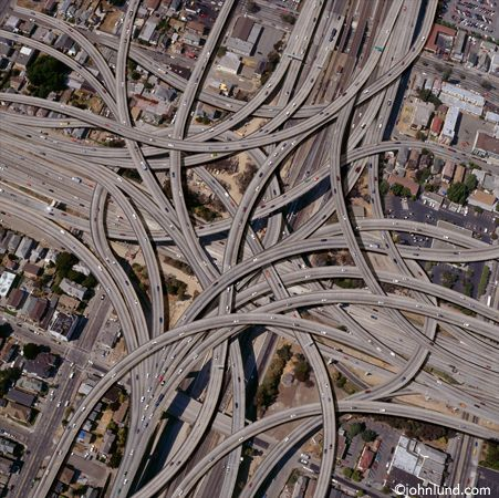 Dallas highways engineering marvel - unless you're driving there!!
