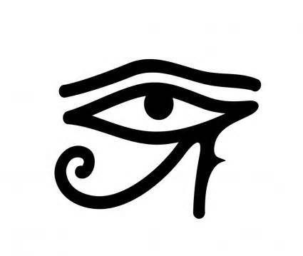 Egyptian Anubis Symbol Eye of Horus                                                                                                                                                      Más