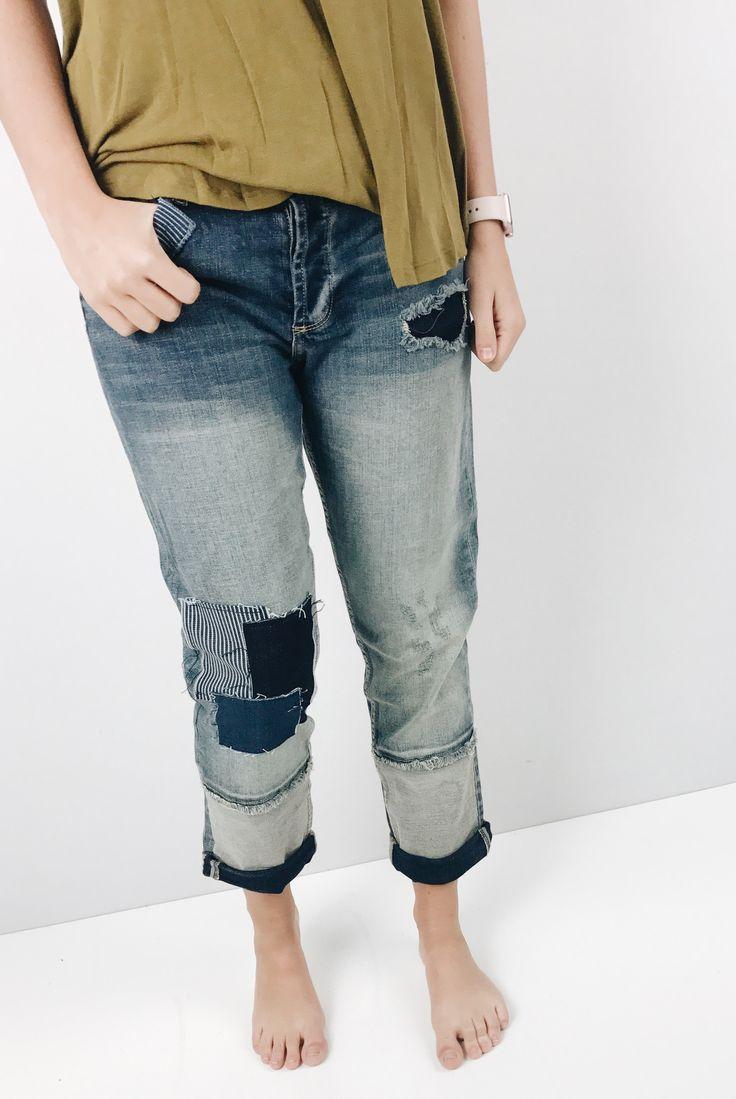 Christian Boyfriend Jeans