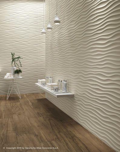 superficies de cermica para las paredes decorativas con la cosechadora atractiva y dinmica de la