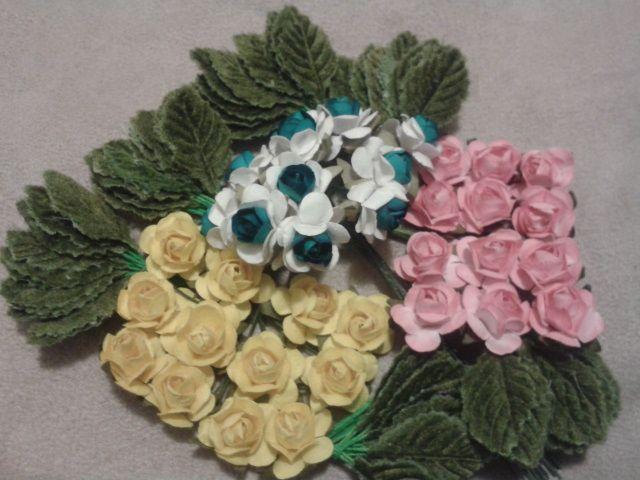 flores para coronas
