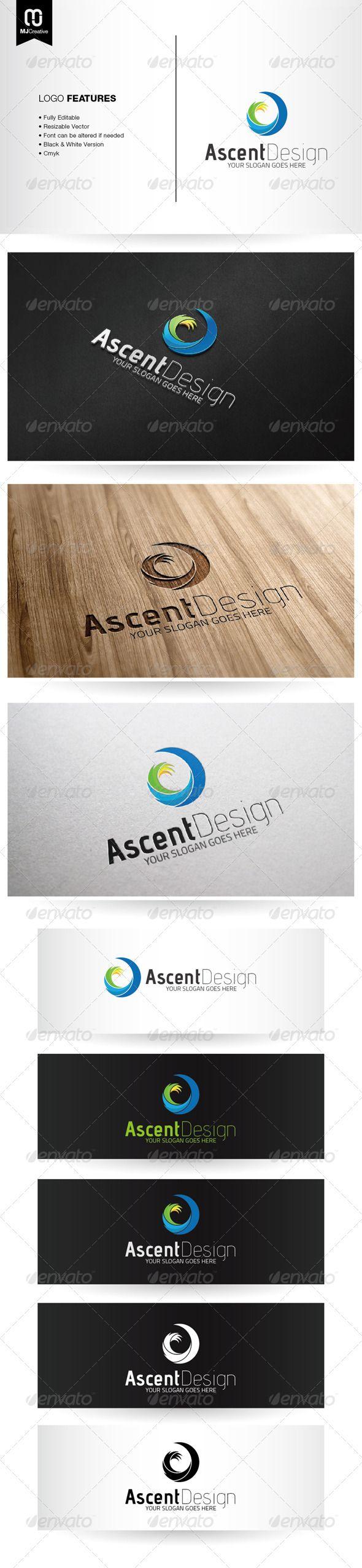 Abstract Spiral A Logo