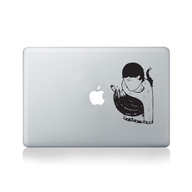 Vinyl macbook stickers decals