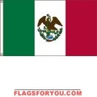2' x 3' Texas Under Mexico High Wind, US Made Flag