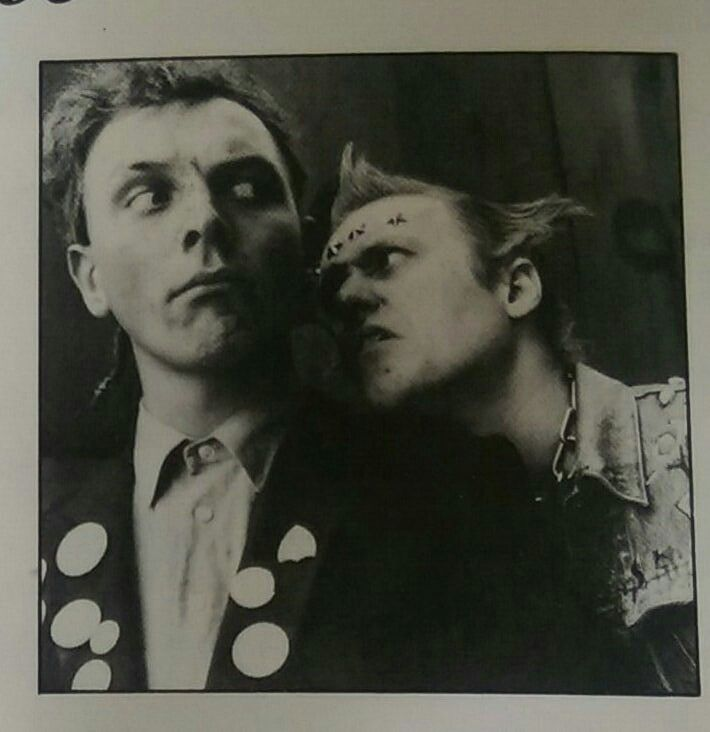 Love these boys. the young ones rik mayall ade edmondson