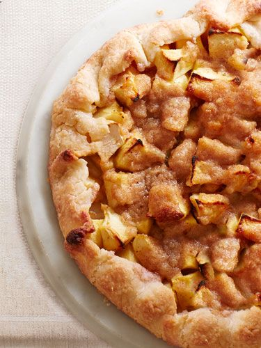 Apple Crostata - Ina Garten -  The dough for this easier, free-form version of apple pie can be made in advance. All you have to do on the day of: Roll it ...