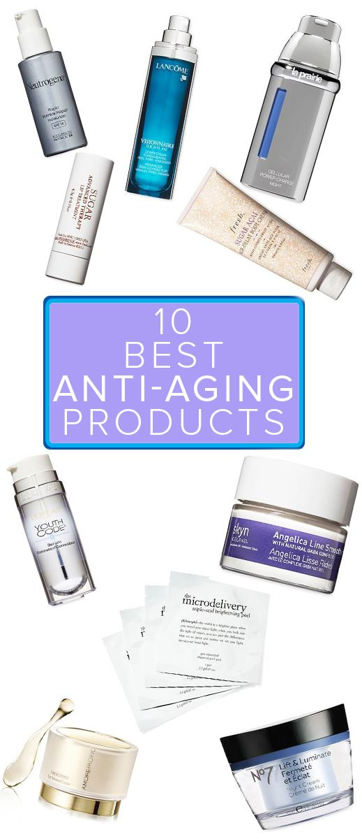 If you're looking for anti-aging product, here are some recommendations.