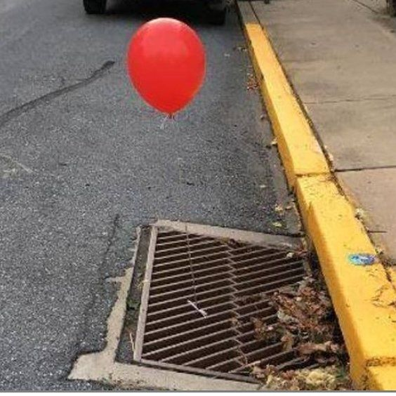 "The Lititz police department said this in a Facebook post: ""A certain movie is coming to theaters in two days and a local prankster took it upon themselves to promote the movie.... We give points for creativity however we want the local prankster to know that we were completely terrified as we removed these balloons from the grates and we respectfully request they do not do that again."" http://13wham.com/news/offbeat/police-terrified-by-red-it-balloons-tied-to-sewer-grates  LITITZ Pa. (AP)…"