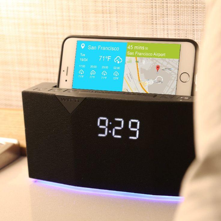 Beddi Intelligent Alarm Clock With Smart Home Integration Alarm Clock Smart