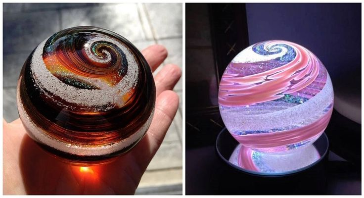 Forget Coffins! This Company Will Swirl You Into Beautiful Glass Creations When You Die