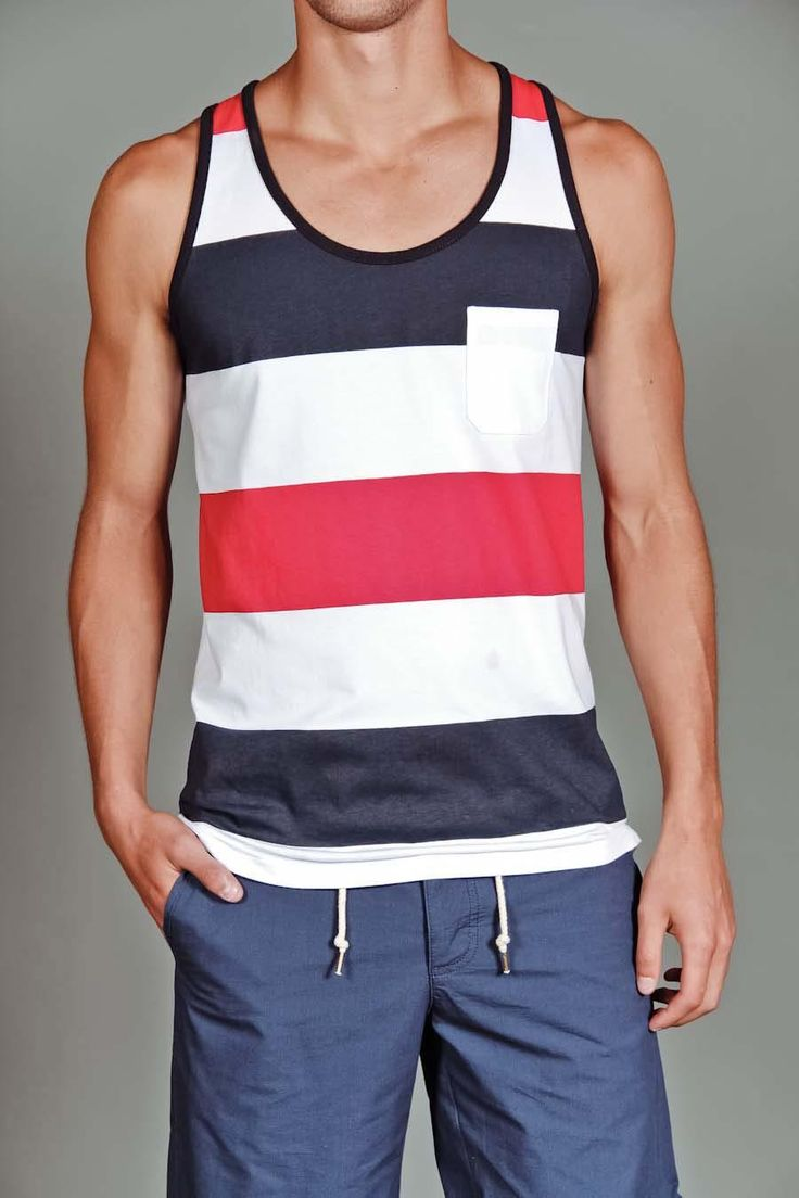 79 best tank tops images on Pinterest | Tank tops, Menswear and ...