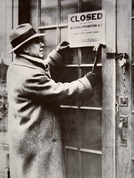 the origin and history of alcohol prohibition 2018-4-30 prohibition is a 2011  and violent crime associated with the illegal trade in alcohol caused  you can hear history talking directly to the.