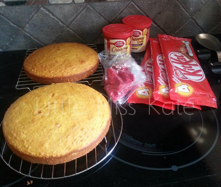 chocolate canada day cake