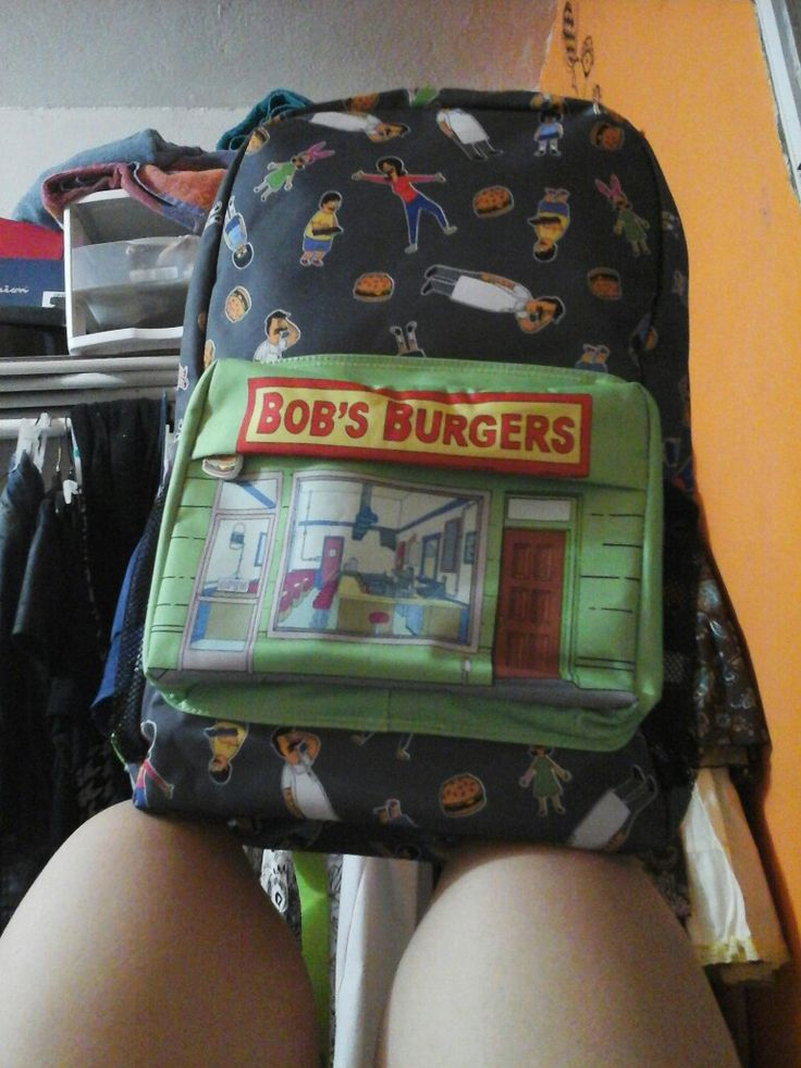 One of my dreams have finally come true. To get a Bob's Burgers merchandise item, And I got this back pack. I'm not even going to school! Hahaha