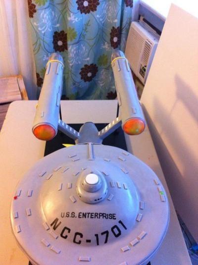 Star Trek Enterprise Cake