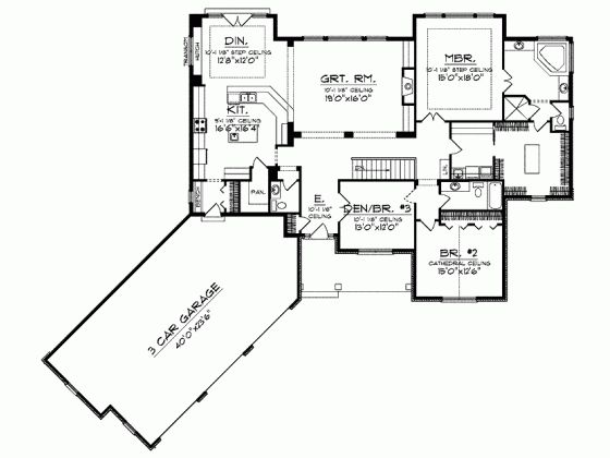 25 best ideas about ranch house plans on pinterest ranch floor plans ranch style floor plans and country inspired blue bathrooms - Ranch Home Plans