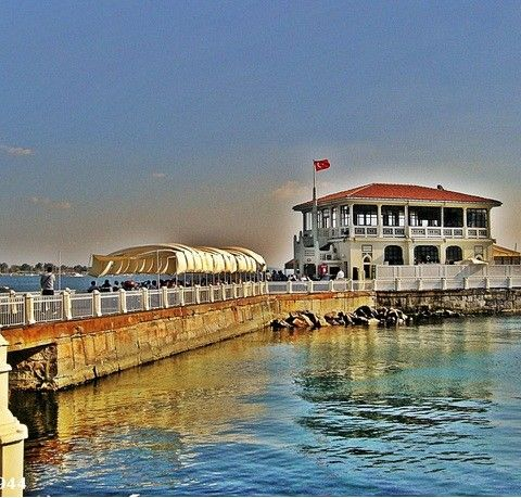 Bostancı İskelesi #georarchy #nilaccra #turkey #istanbul #bostanci