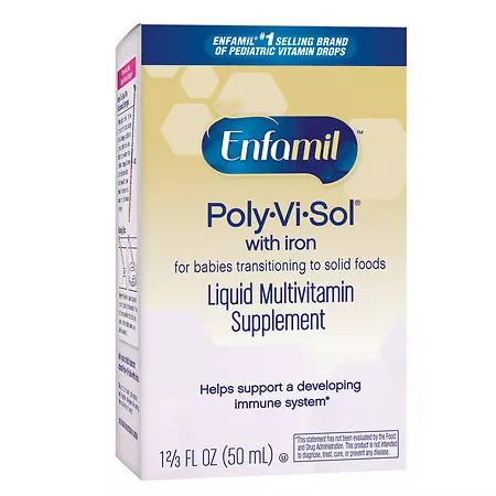 Enfamil Poly-Vi-Sol with Iron Multivitamin Supplement Drops - 1.66 fl oz: Specially designed to help meet… #USAOnlineShopping #USAShopping