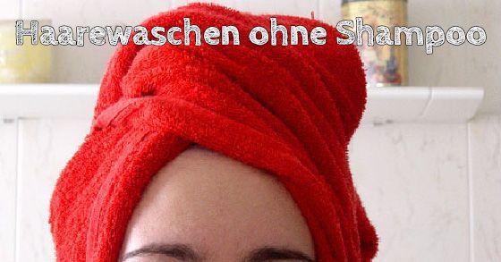 Haare waschen ohne Shampoo? Reines Wasser reicht selten. Wir zeigen dir einen kleinen Trick, mit dem du bei der Haarwäsche auf Shampoo verzichten kannst.