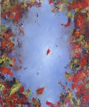 "Saatchi Art Artist Adrienne Silva; Painting, ""The First Leaf"" #art"