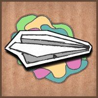 https://androidapplications.ru/games/6104-paper-world.html  Paper World  Рисованная аркада с бумажным самолетиком.