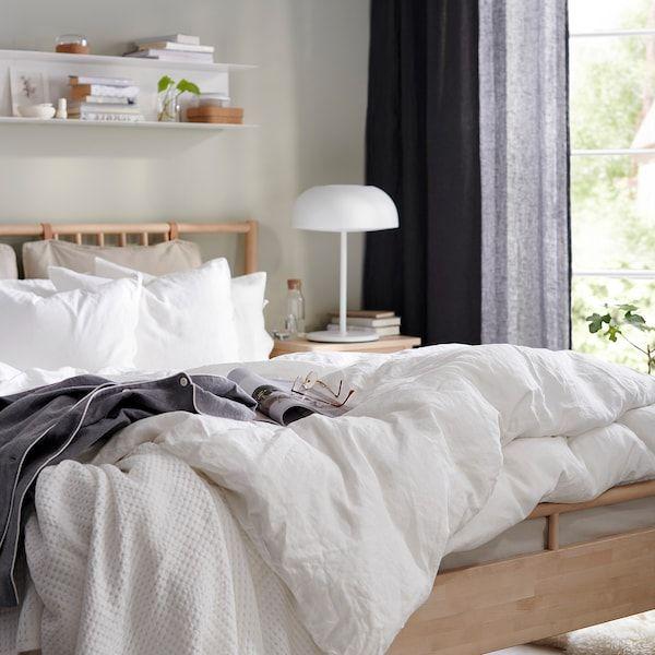 Bjorksnas Sangstomme Bjork 140x200 Cm In 2020 Adjustable Beds Birch Bed Frame Bed Frame