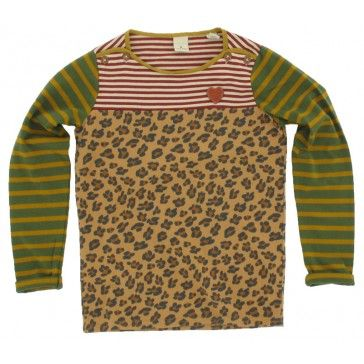 Scotch Rbelle - Trui Streep luipaard