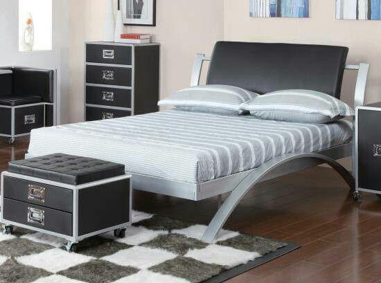Atlantic Furniture Melbourne Fl Youth Full Metal Platform Bed! Itu0027s Unique  And Indestructible:)