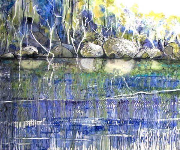 BluNear Raymond Falls- carole foster art
