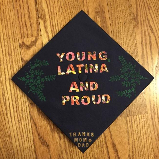 11 Latino Themed Cap Designs For Your Graduation Inspo