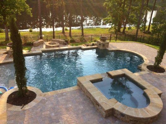 Carribean Blue #Pebbletec | RCS Pool And Spa | Atlanta | RCS Pool And Spa