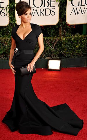 The curvy, gorgeous Eva Longoria, Golden Globes 2011