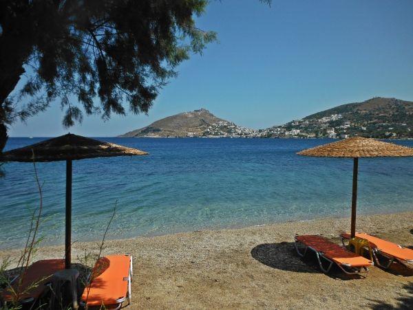 Lounges at Dioliskaria beach