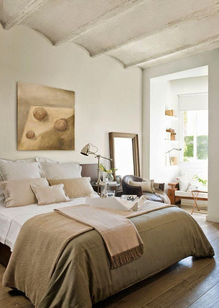 Inspiração do dia: quartos elegantes