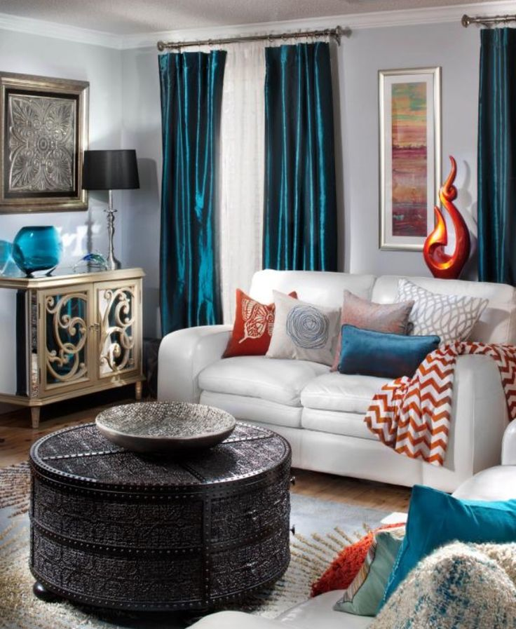 Best 18 Best Aqua Burnt Orange Room Images On Pinterest House 400 x 300