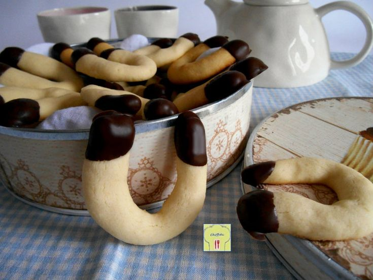 Ferri di cavallo, ricetta biscotti