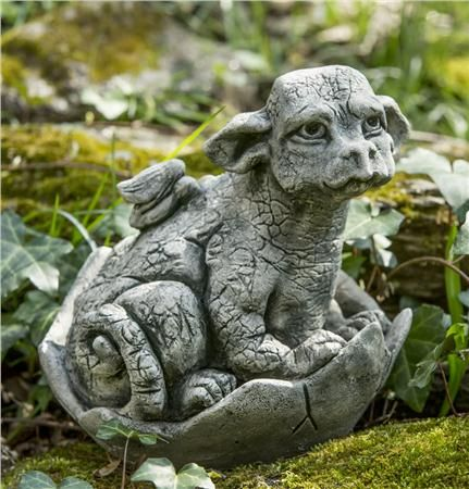 Whimper Dragon Garden Statue The Gates For Cute Baby Dragons