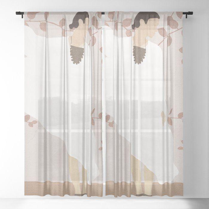 Soft Summer Breeze Ii Sheer Window Curtains Dormroomdecor