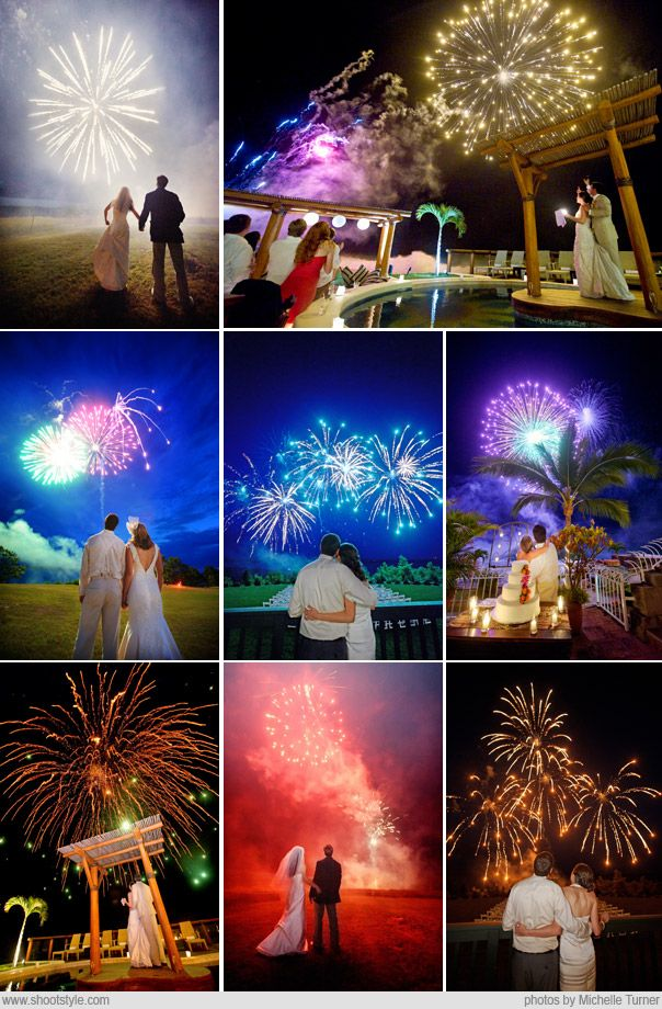 4th of July Wedding shots! Congrats to anyone getting married this Independence Day!! ♥